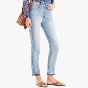 J Crew vintage straight jeans